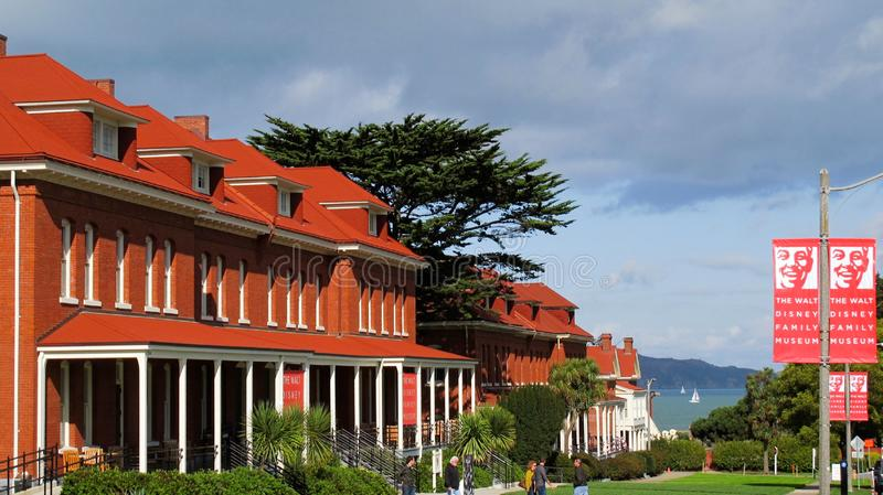 Walt Disney Museum San Francisco photo libre de droits