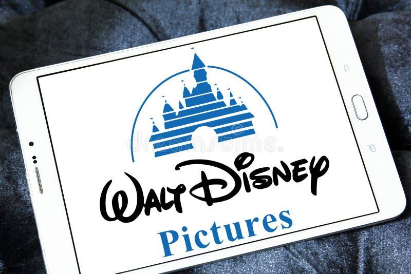 Walt Disney obrazuje loga obraz royalty free