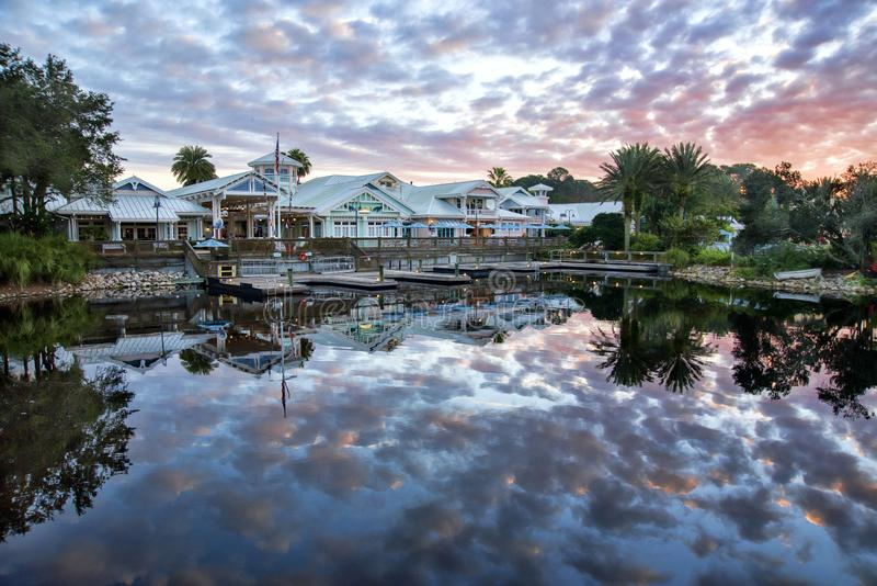 Walt Disney`s Old Key West Resort royalty free stock photos