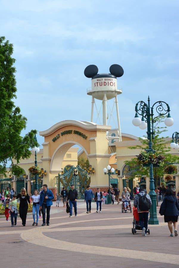 Walt Disney Studios Paris royaltyfri bild