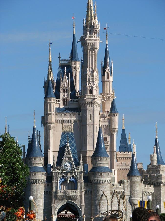 Walt Disney World Castle fotografía de archivo