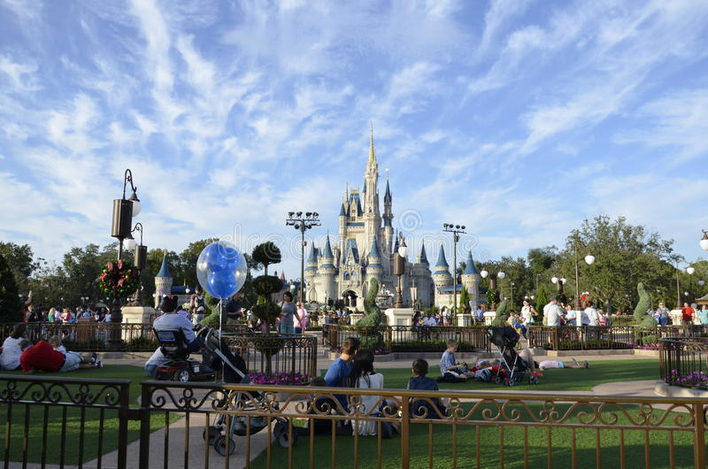 Walt Disney World in Florida stock foto