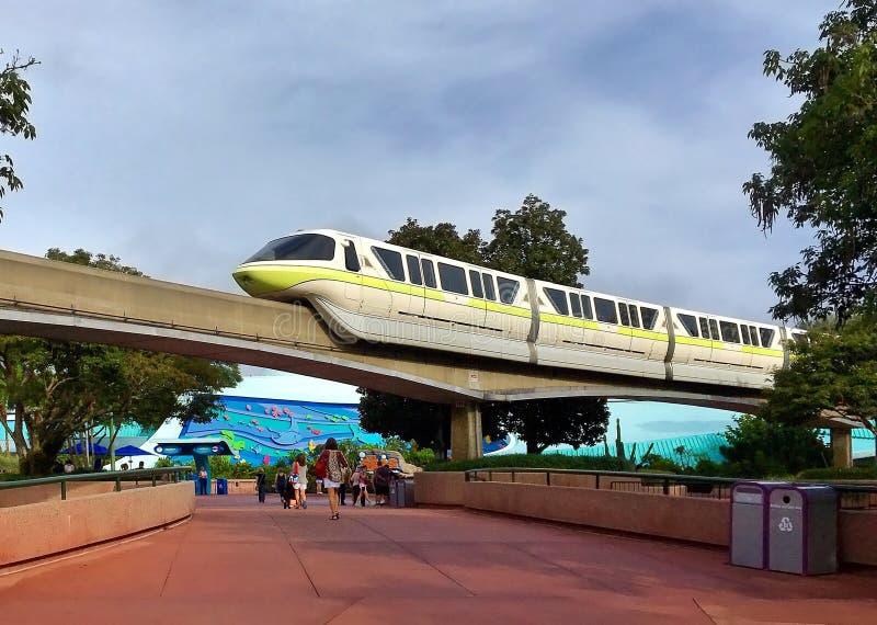 Walt Disney World Monorail System royalty-vrije stock afbeeldingen