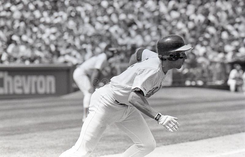 Walt Weiss, Oakland Athletics photographie stock