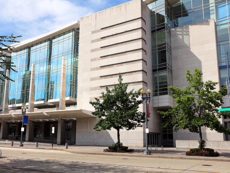 Walter E Waszyngtoński convention center zdjęcia stock