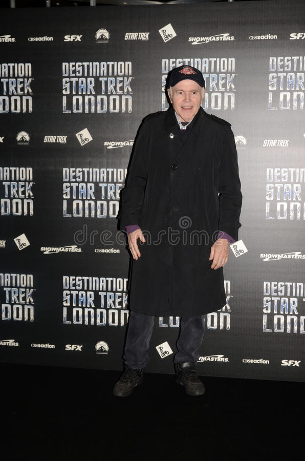 Download Walter Koenig At Destination Star Trek In  London Docklands 19th Editorial Stock Image - Image: 27809419