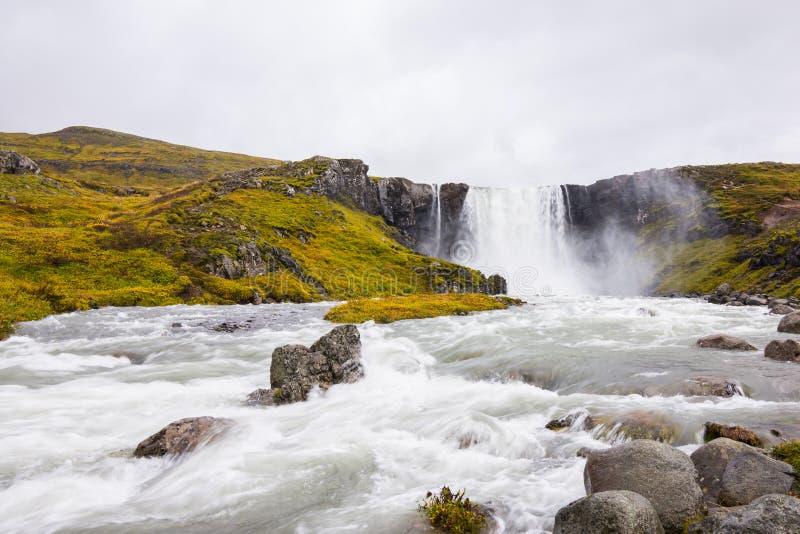 Walter Mitty Waterfall fotografía de archivo