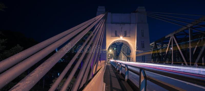 Walter Taylor Bridge en Brisbane fotografía de archivo