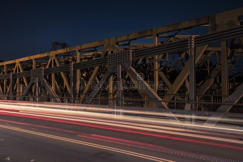 Walter Taylor Bridge i Brisbane royaltyfria foton