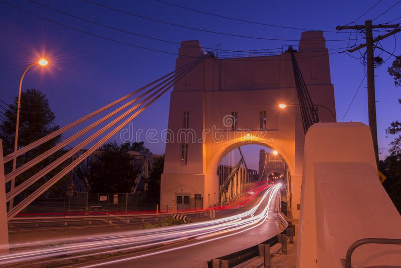 Walter Taylor most w Brisbane obrazy stock