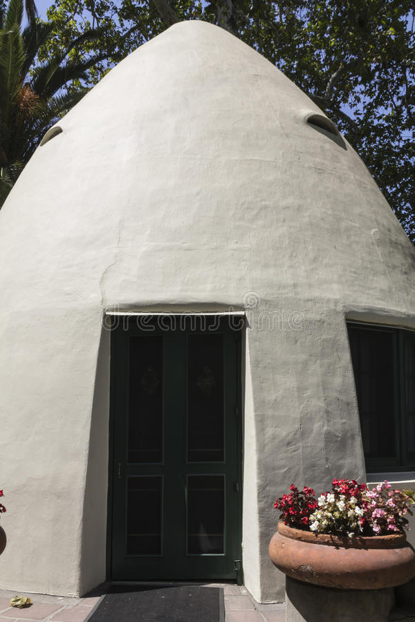 Walter Temple's Tepee atHomestaed Museum. stock images