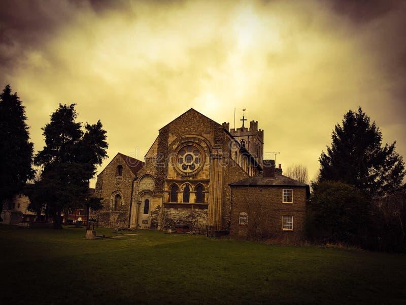 Waltham修道院 免版税库存图片
