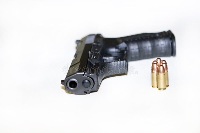 Walther e balas imagens de stock royalty free