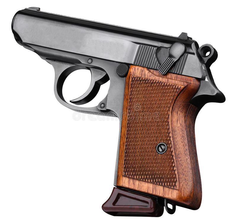 Walther PPK 22 stock photography