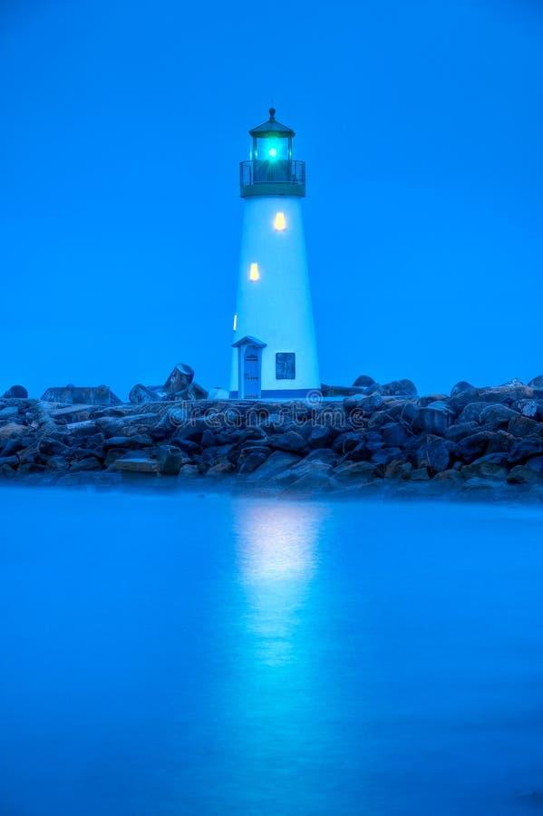 Walton Leuchtturm, Santa Cruz lizenzfreie stockbilder