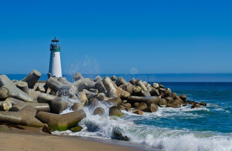 Walton Lighthouse imagem de stock royalty free