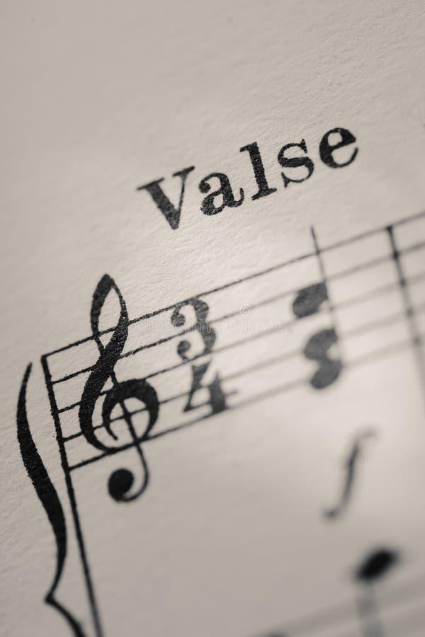 Download Waltz stock image. Image of start, barline, musical, line - 7467951