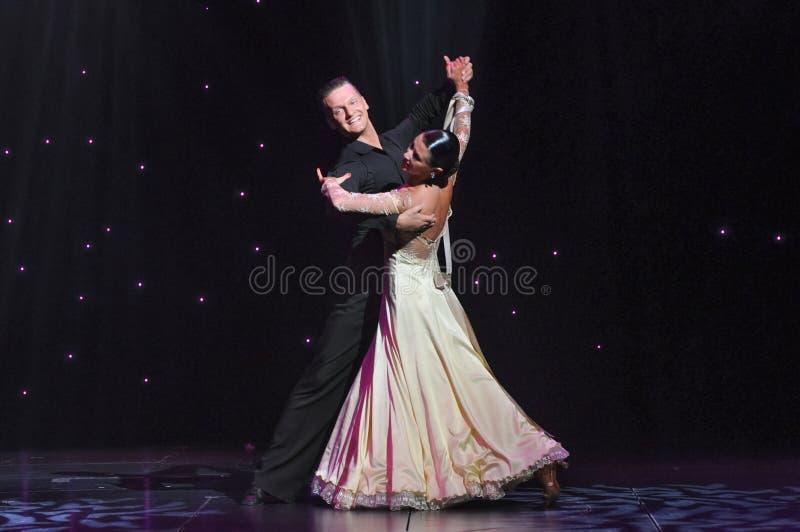 Waltz Ballroom royalty free stock photography