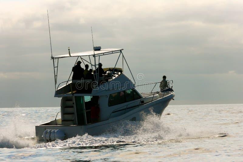Waluhrboot lizenzfreies stockbild