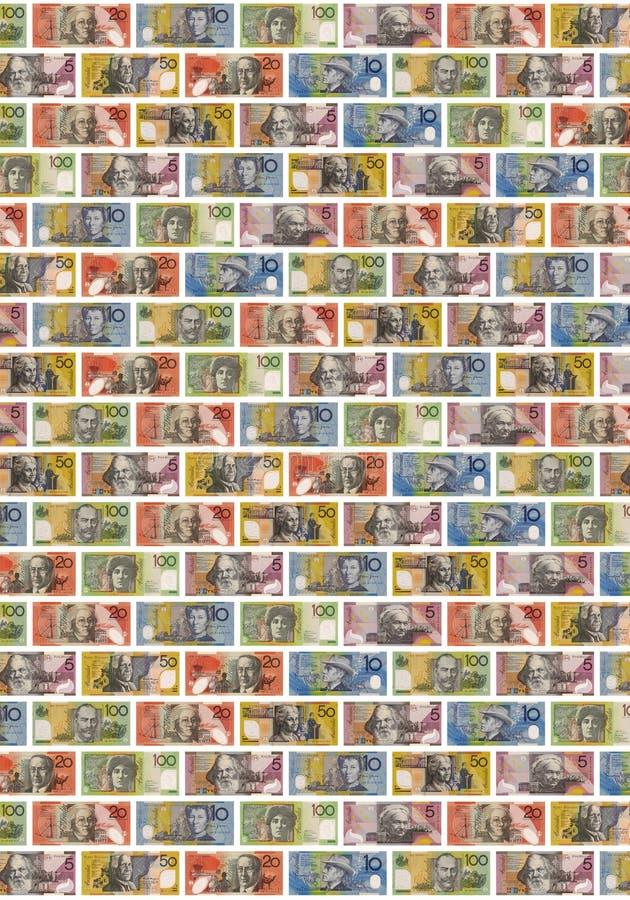 waluta australijskiego dolarów pieniądze zdjęcia stock
