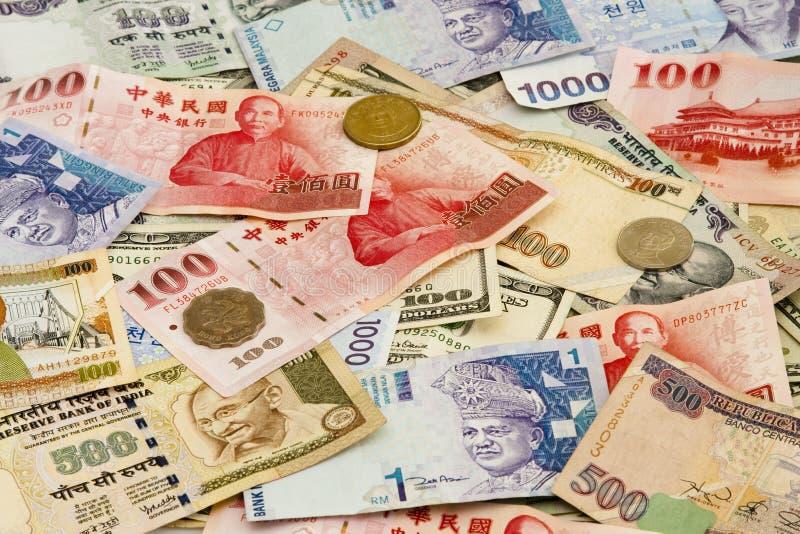 waluta cudzoziemska obraz royalty free