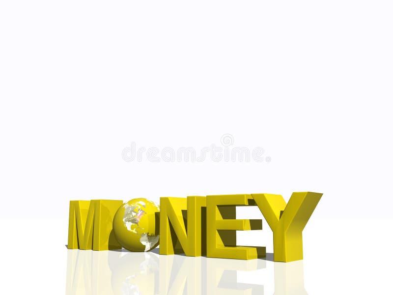 waluta pieniądze świata ilustracji