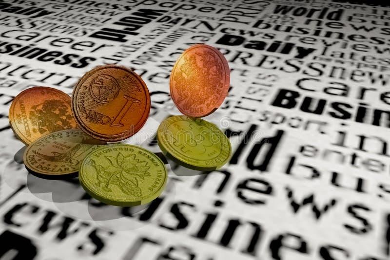 Waluta różna zdjęcie stock