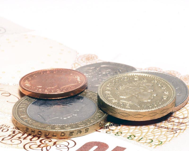 waluta wielkiej brytanii obrazy stock