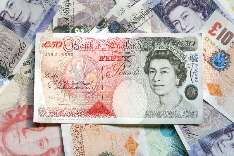 waluta wielkiej brytanii obraz stock