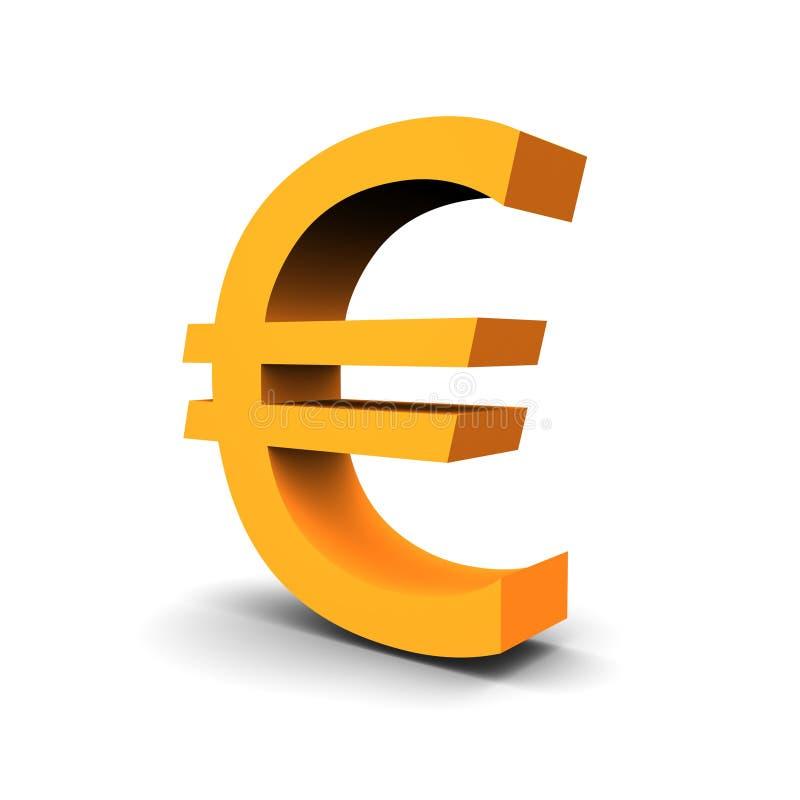 Waluty Euro Symbol Obrazy Stock