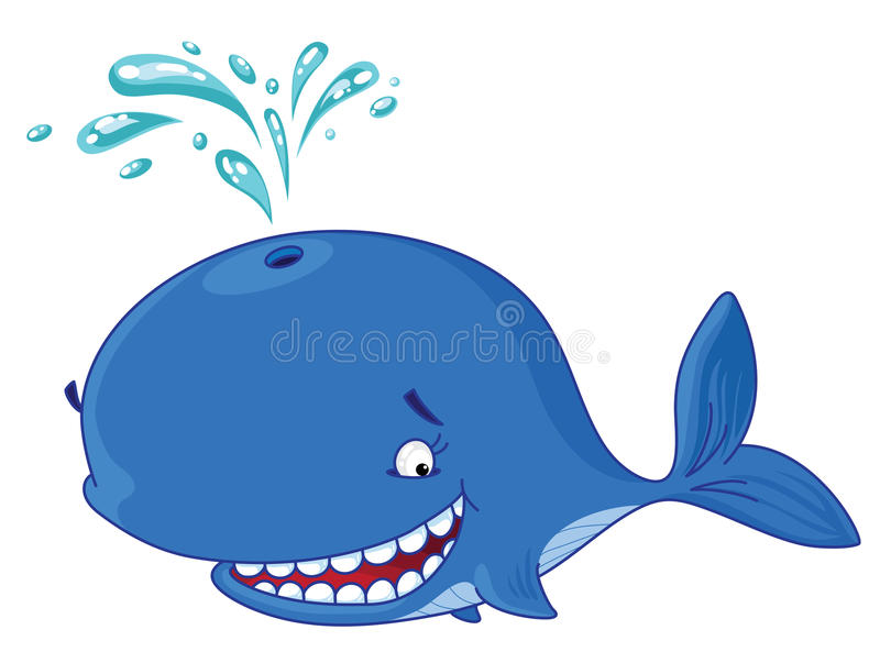 Walvis vector illustratie
