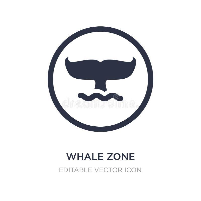 Walzonenikone auf weißem Hintergrund Einfache Elementillustration vom Tierkonzept lizenzfreie abbildung