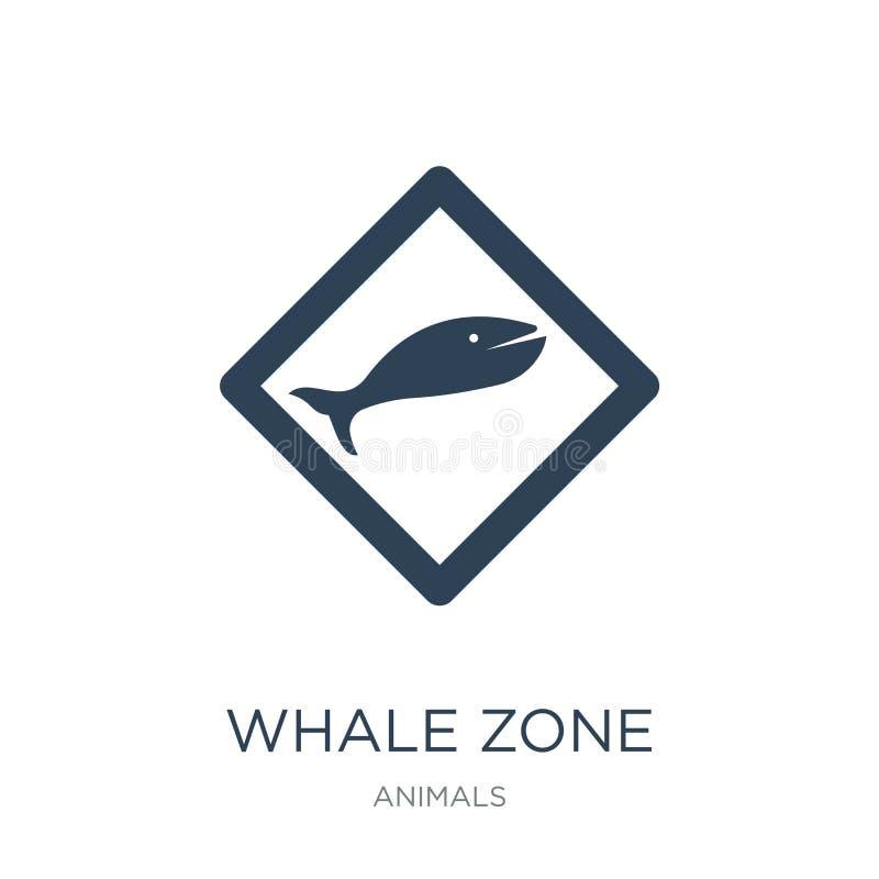Walzonenikone in der modischen Entwurfsart Walzonenikone lokalisiert auf weißem Hintergrund Walzonen-Vektorikone einfach und mode lizenzfreie abbildung