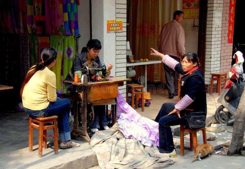 Download Wan Jia, China: Seamstress At Work Editorial Image - Image: 20450300