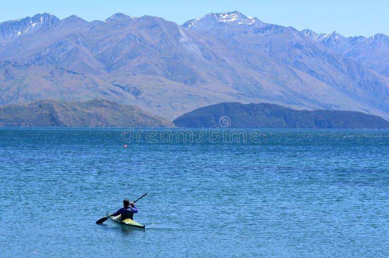 Wanaka - le Nouvelle-Zélande photographie stock libre de droits