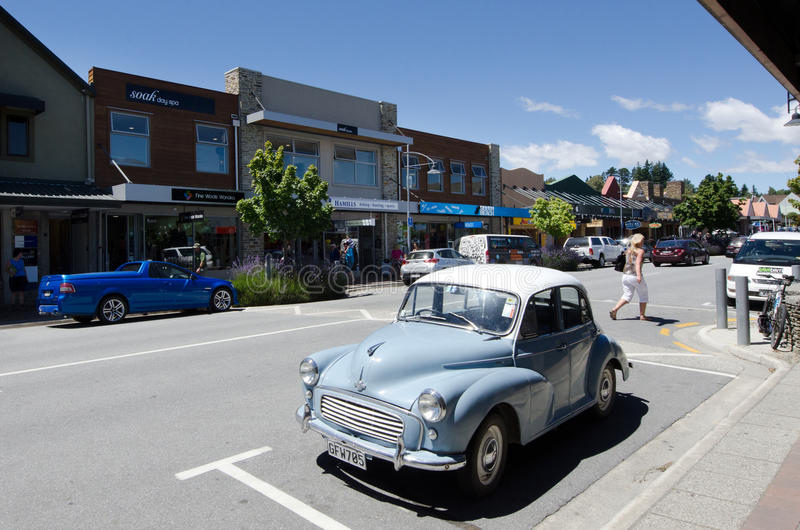Wanaka - New Zealand royalty free stock photos