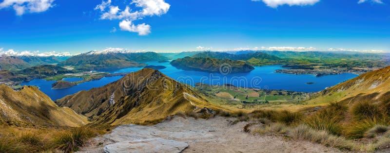 Wanaka Nieuw Zeeland stock afbeelding