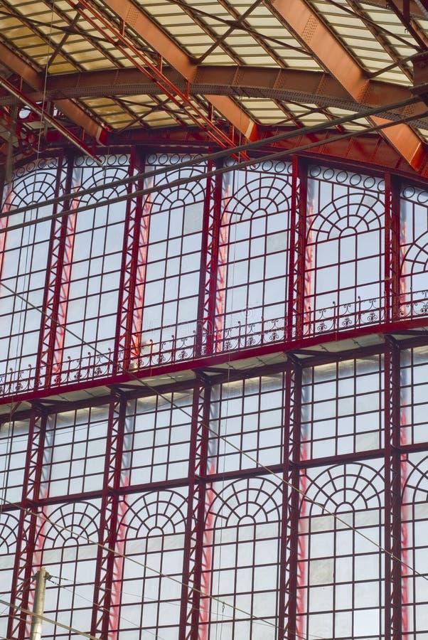 Wand, Antwerpen-Bahnstation lizenzfreies stockbild