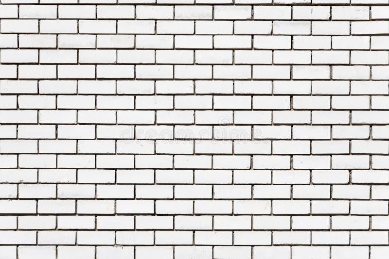 Wand aus weißem Ziegelstein lizenzfreie stockbilder