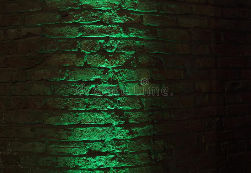 Hintergrund Der Alten Backsteinmauer Nachts Stockfoto   Bild von getragen, architektur 87706898