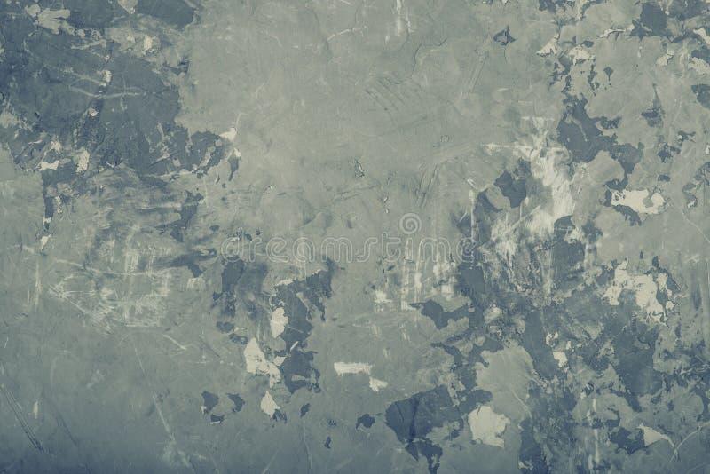 Wand-Beschaffenheitshintergrund des abstrakten Schmutzes grauer, getont stockfotografie