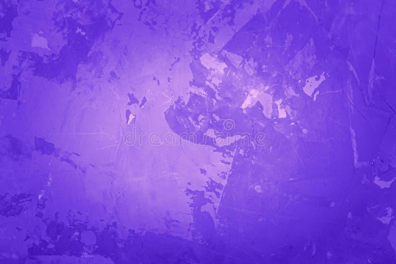 Wand-Beschaffenheitshintergrund des abstrakten Schmutzes violetter, Vignette lizenzfreies stockfoto