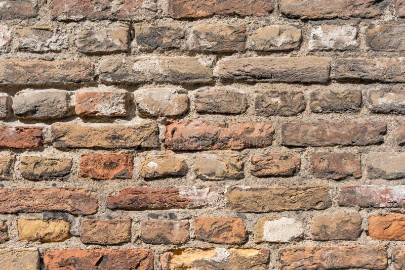 Wand-Beschaffenheitsschmutzhintergrund des roten Backsteins, verwendet m?glicherweise f?r Innenarchitektur lizenzfreie stockfotografie