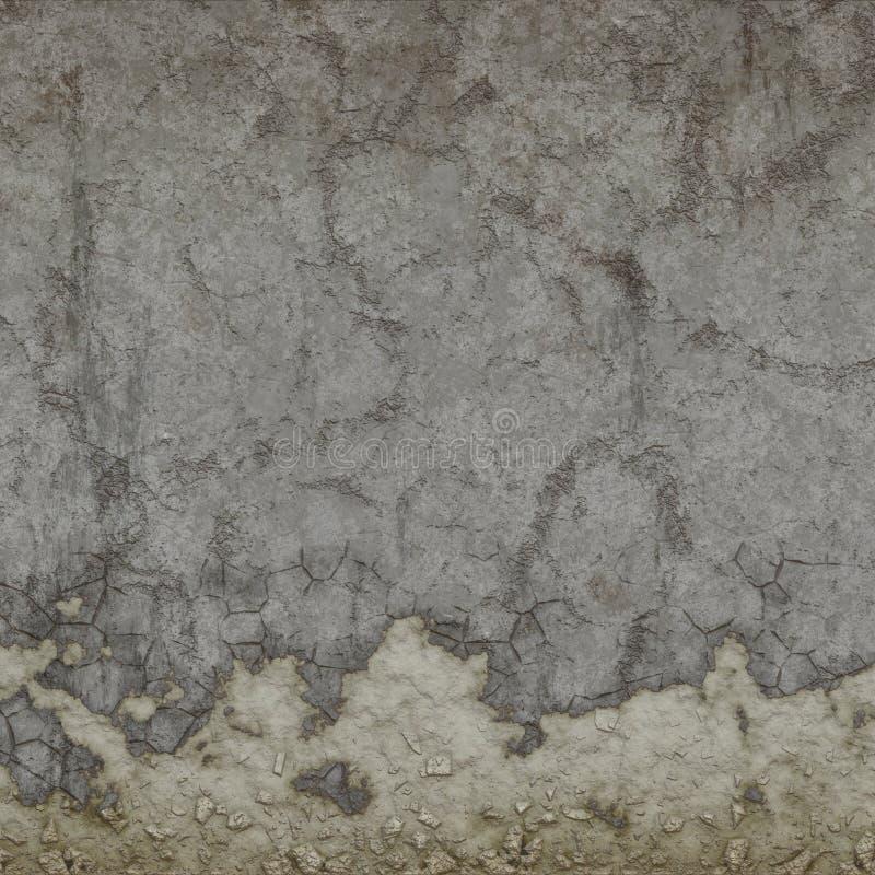 Wand beunruhigt vektor abbildung