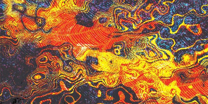 Wand-buntes abstraktes Beschaffenheits-Muster-Schmutz-Fliesen-Dekor-Design lizenzfreie stockfotos