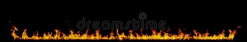 Wand der Flammen lizenzfreie stockfotos