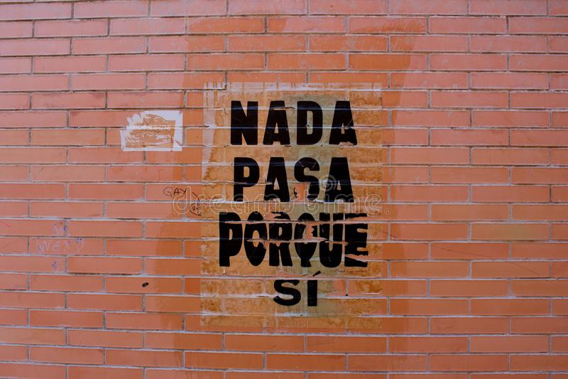 Wand der Straßen-Art lizenzfreie stockfotos