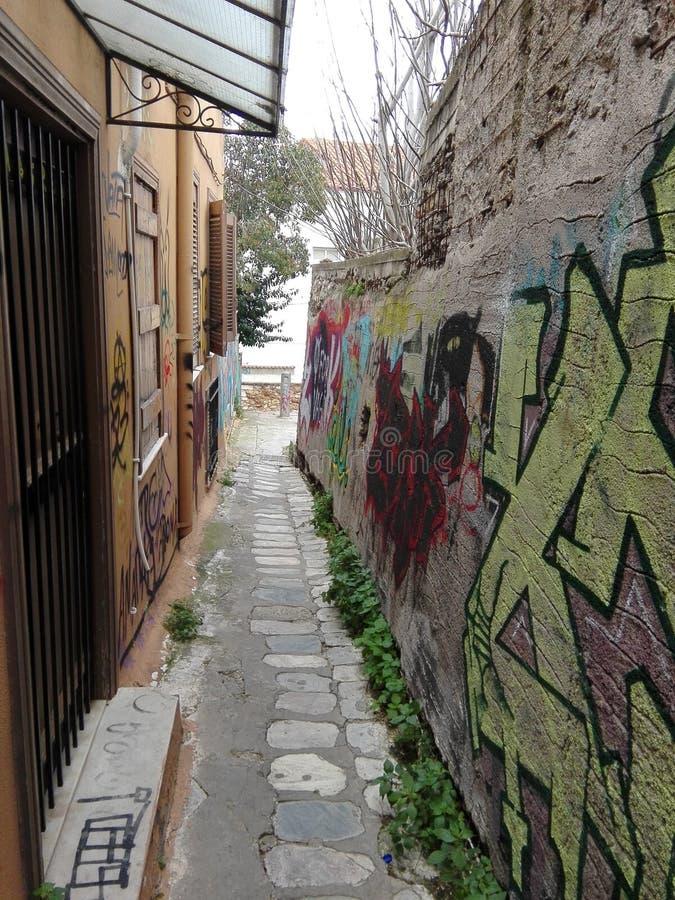 Wand der Straßen-Art lizenzfreie stockbilder
