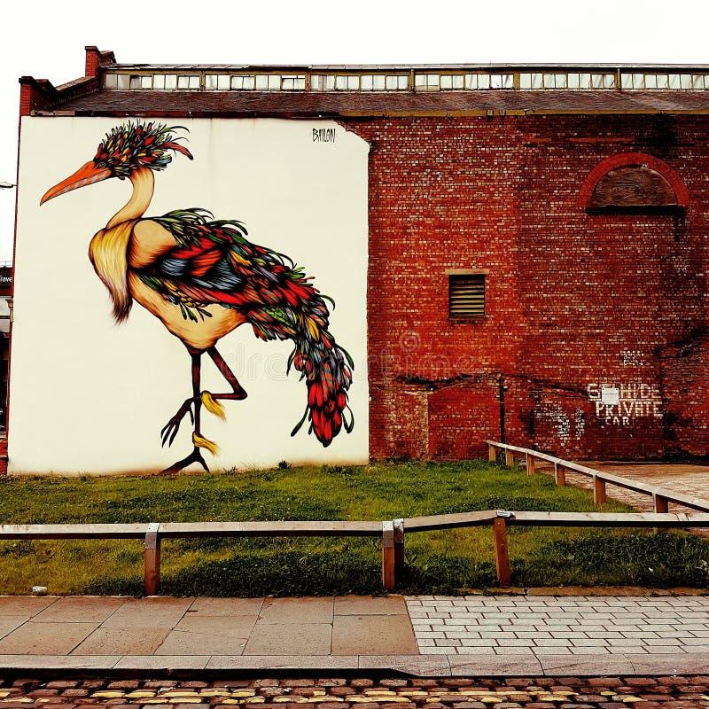 Wand der Straßen-Art lizenzfreie stockfotografie