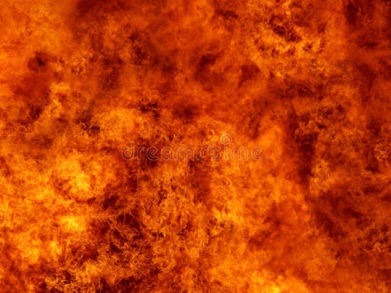 Wand des Feuers stockbilder